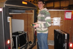 daniel-labels-some-of-our-equipment